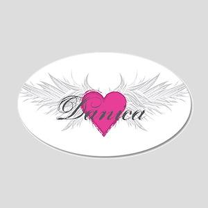 My Sweet Angel Danica 20x12 Oval Wall Decal