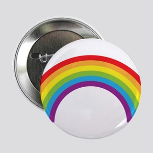 "Cool retro graphic rainbow design 2.25"" Button"