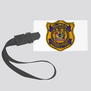 Delaware DOC patch Large Luggage Tag