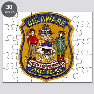 Delaware State Police patch Puzzle