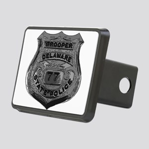Delaware State Police badge Rectangular Hitch Cove