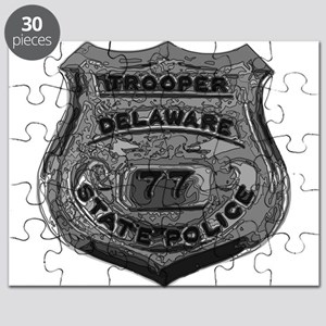 Delaware State Police badge Puzzle