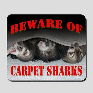 Carpet Shark Mousepad