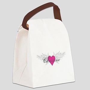 My Sweet Angel Christine Canvas Lunch Bag