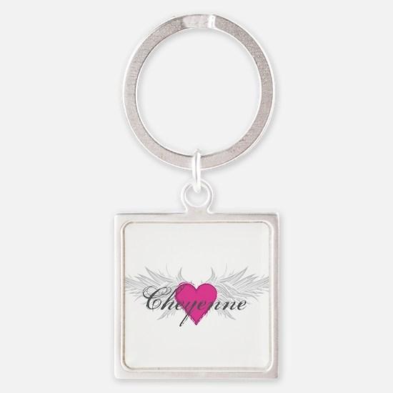 My Sweet Angel Cheyenne Square Keychain
