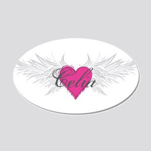 My Sweet Angel Celia 20x12 Oval Wall Decal
