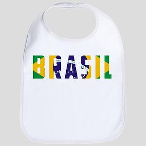 Brasil-Brazil Flag Bib