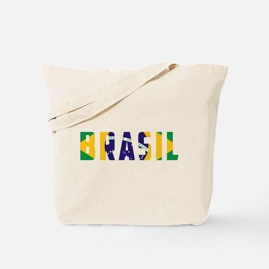 Brasil-Brazil Flag Tote Bag