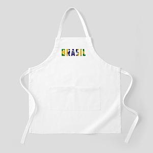 Brasil-Brazil Flag Apron