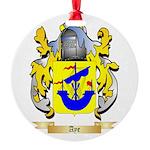 Aye Round Ornament
