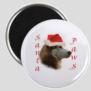 Santa Paws Sibe Magnet