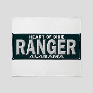 Alabama Ranger Throw Blanket