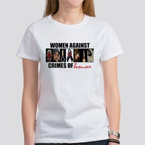 Women Against Crimes of Honor T-Shirt (white)