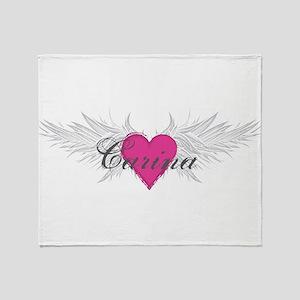 My Sweet Angel Carina Throw Blanket