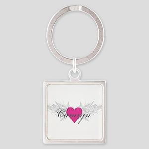 My Sweet Angel Camryn Square Keychain