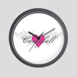 My Sweet Angel Campbell Wall Clock