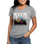 Autism awareness is growi Womens Tri-blend T-Shirt