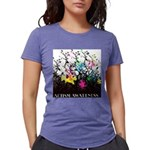 Autism awareness is growi Womens Tri-blend T-Shirt