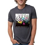Autism awareness is growing Mens Tri-blend T-Shirt