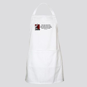 You may never know... BBQ Apron