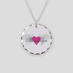 My Sweet Angel Brooklyn Necklace Circle Charm