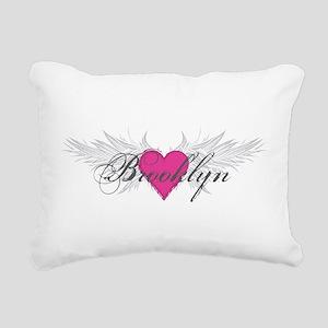 My Sweet Angel Brooklyn Rectangular Canvas Pillow
