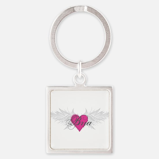 My Sweet Angel Bria Square Keychain
