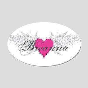 My Sweet Angel Breanna 20x12 Oval Wall Decal