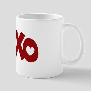 Hugs Kisses Hearts Mug
