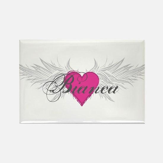 My Sweet Angel Bianca Rectangle Magnet