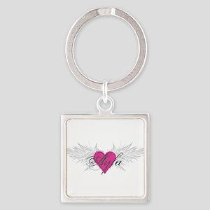 My Sweet Angel Ayla Square Keychain