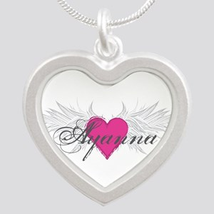 My Sweet Angel Ayanna Silver Heart Necklace