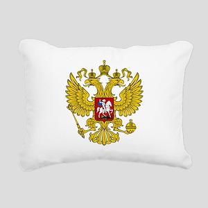 Russian Eagle Rectangular Canvas Pillow