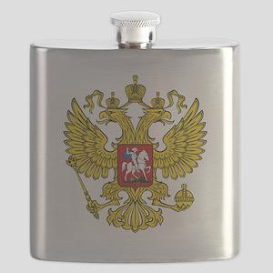 Russian Eagle Flask