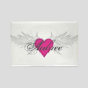 My Sweet Angel Aubree Rectangle Magnet