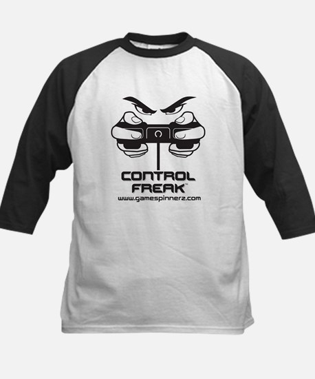 Control Freak Kids Baseball Jersey