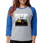 Autism awareness puzzle  Womens Baseball Tee