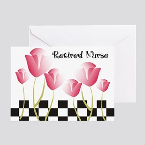 Retired Nurse A Greeting Card