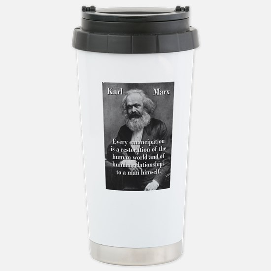 Every Emancipation - Karl Marx Mugs
