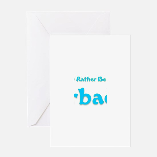 Id Rather Be...Barbados.png Greeting Card