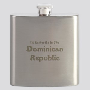 Id Rather Be...Dominican Republic Flask