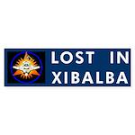 LOST IN XIBALBA Bumper Sticker