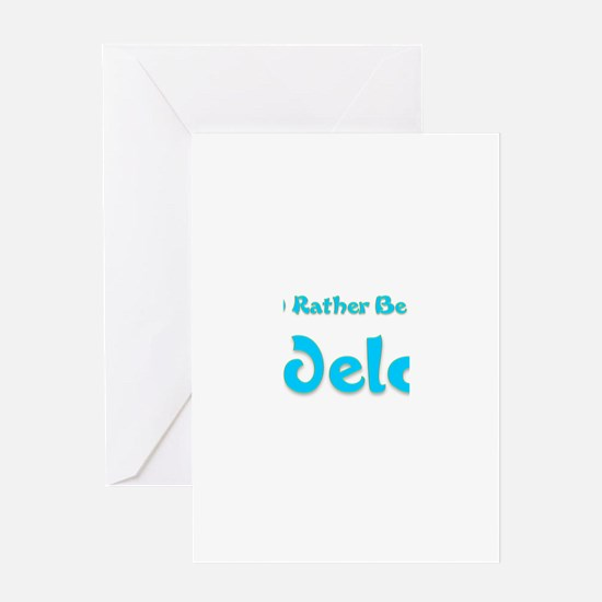 Id Rather Be...Guadeloupe.png Greeting Card
