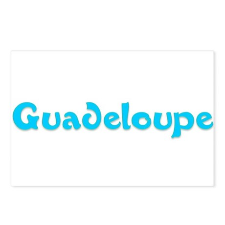 Guadeloupe Postcards (Package of 8)
