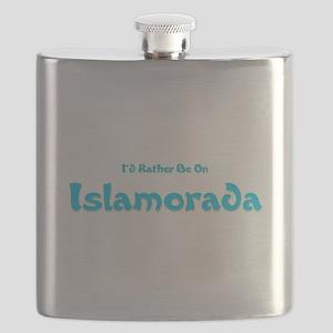 Id Rather Be...Islamorada Flask