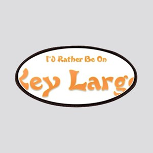 Id Rather Be...Key Largo Patches