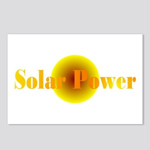 Solar Power Postcards (Package of 8)