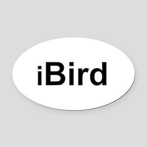 iBird Oval Car Magnet