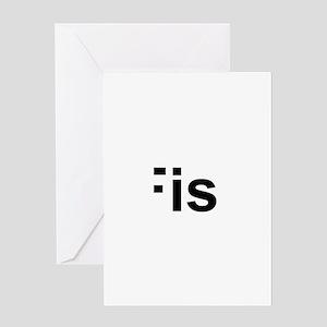 iFish Greeting Card