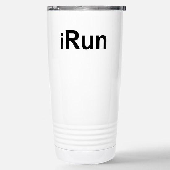 iRun.png Stainless Steel Travel Mug